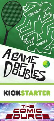 Cover art for A Game of Doubles Kickstarter Spotlight with Jonathan Thompson