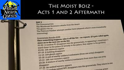 Cover art for The Moist Boiz - Acts 1 and 2 Aftermath