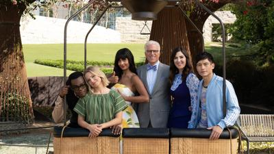 Cover art for The Good Place Finale