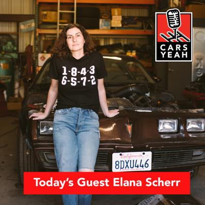 Cover art for 1569: Elana Scherr is an automotive  journalist and YouTuber