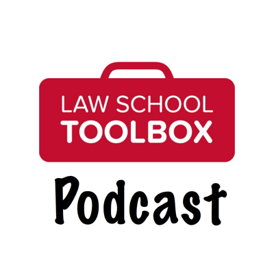 The Law School Toolbox podcast is an engaging show for law students about law school, the bar exam, legal careers, and life. Each week, we offer practical tips and advice on academic matters, careers, and more. The Law School Toolbox podcast is hosted by opinionated law school and bar exam experts Alison Monahan and Lee Burgess. You might not always agree with us, but we guarantee you won't be bored listening! Our goal is to impart useful, actionable advice in an entertaining manner. Join us! And, if you have an opinion on the show, please drop by and offer a review. We're here to help, and we'd love to hear from you!