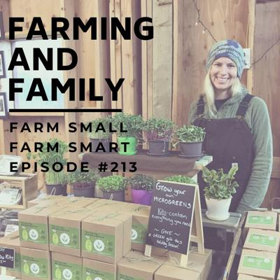 Cover art for Balancing Family and Farming with Laura Patterson (FSFS213)