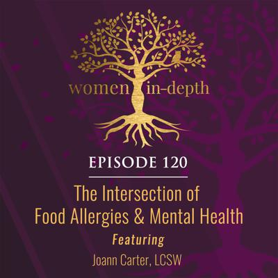 Cover art for 120: The Intersection of Food Allergies & Mental Health