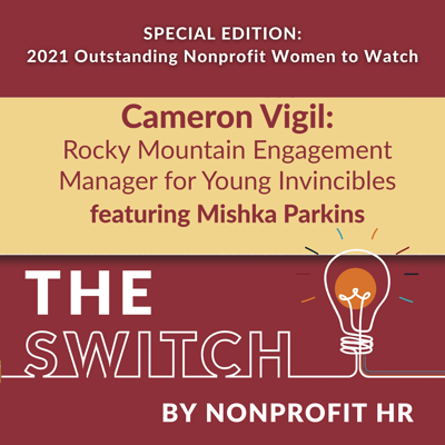 Cover art for Women to Watch 2021: Cameron Vigil Interviewed by Mishka Parkins