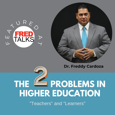 Cover art for The Two Problems in Higher Education: Teachers and Learners