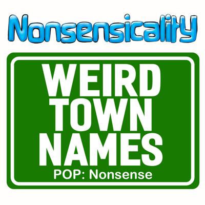 Cover art for Weird Town Names