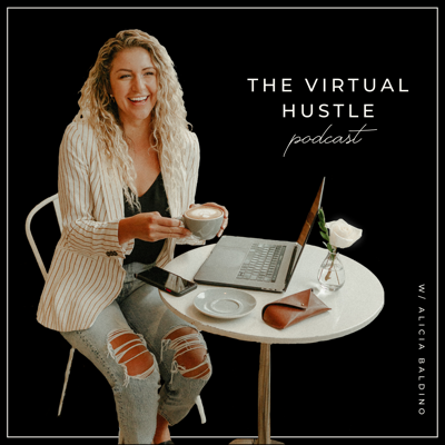 The Virtual Hustle Podcast is for the creators, doers, outside-the-box thinkers, the work-from-wherevers, entrepreneurs and the aspiring, looking to take their life and business to the next level.  We talk online marketing strategy for a variety of businesses & brands, and the best practices while working remotely.  Thanks to the INTERNET, we have the world at our fingertips and we can truly create whatever life and brand we want.  Alicia is the host, and her whole world changed when she was given the opportunity to work remotely. She moved across the country, started a business and learned (the hard way) what it takes to work remotely and grow a virtual business from home, from an airplane, or from a cabin in the mountains.  Living where you want and doing work you enjoy is the ultimate game-changer in the pursuit of living your most extraordinary life.  This podcast is a way to give that same opportunity to others.  There will be guests on who have done it. They will share stories, truths and tips to motivate, educate and inspire you to take the leap.  Each episode is very targeted with specific topics and lessons. Grab a drink and pull up a chair.
