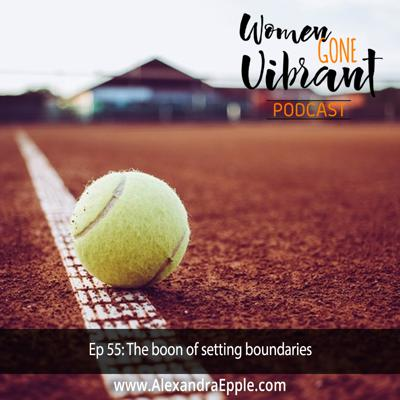 Cover art for Episode #55: The boon of setting boundaries