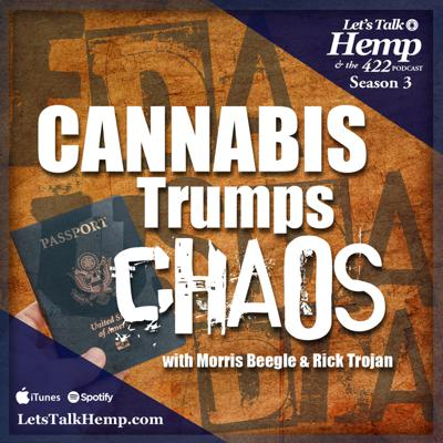 We strive to provide neutral and balanced information about the burgeoning hemp industry nationally and globally. Rick has been to 30 + countries studying hemp across many legal frameworks. Morris brings event promotion to the podcast with customers from all over the world. Together they bring experience, network and entertainment to the educational podcast.