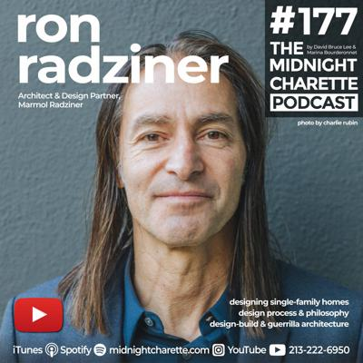 Cover art for #177 - Ron Radziner, FAIA Architect on Design, Single-Family Homes, and More