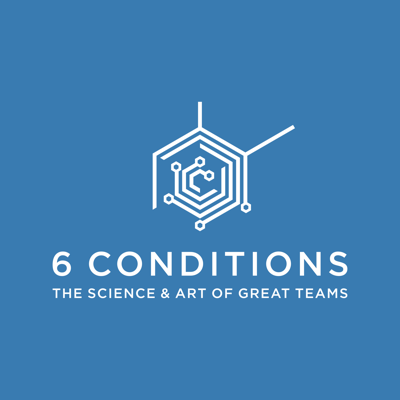 Explore the Science and Art of Great Teams through the 6 Conditions podcast with show hosts Dr. Ruth Wageman and Dr. Krister Lowe.  The show explores how the 6 Team Conditions framework--a leading, empirically validated and highly predictive framework based on the seminal work of Drs. Richard Hackman, Ruth Wagman and other teams scholars at Harvard University--helps team leaders, team members and team coaches/facilitators foster team effectiveness.  The show unpacks the structural design conditions as well as the emergent process dynamics that drive great teams.  Dr. Ruth Wageman is a leading scholar-practitioner in the area of team effectiveness and is the author of