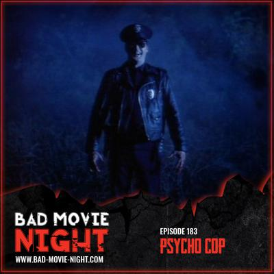 Cover art for Psycho Cop (1989)