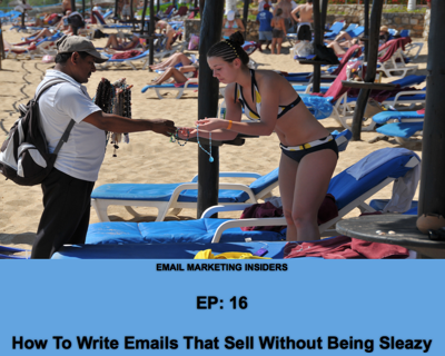 "Cover art for EP: 16 ""The Email Gravity Formula"" How To Write Emails That Sell Without Being Sleazy"