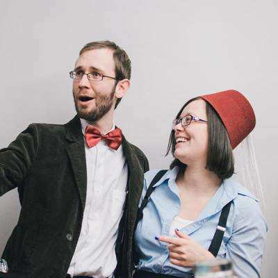 Doctor Whooch is a bi-weekly podcast, hosted by Brandon Schatz and Danica LeBlanc. The format is simple: there's drinking, and then there's Doctor Who, and then there's drinking while they talk about Doctor Who.