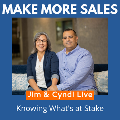 Cover art for 92 - Jim & Cyndi Live - Knowing What's at Stake