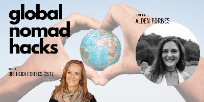 Cover art for Episode 004: Alden Forbes - Solo Girl on Gap Year in Asia and South America