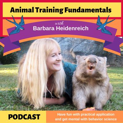 From rabbits to rhinos! Have fun with practical application and get mental with behavior science. Animal training expert Barbara Heidenreich helps you solve your behavior problems and reach your training goals.
