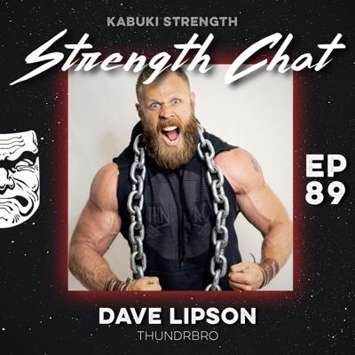 Cover art for Strength Chat #89: Dave Lipson