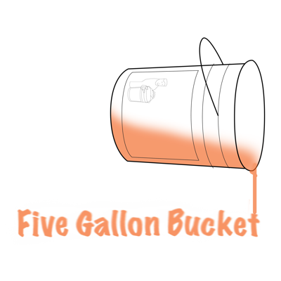 Five Gallon Bucket of Speaking to the Manager