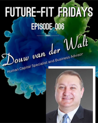 Cover art for Episode 006: Putting The Human Back in Human Resources with Douw van der Walt