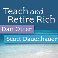 Teach and Retire Rich - Talking teacher retirement savings plans.