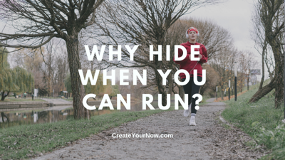 Cover art for 2439 Why Hide When You Can Run?