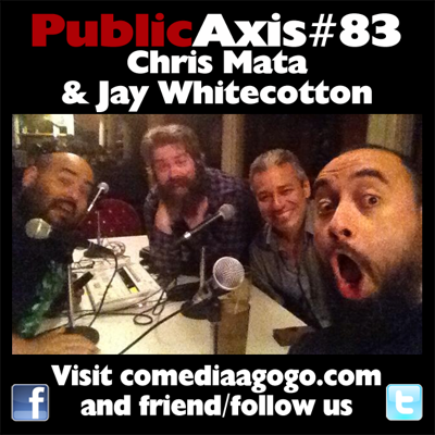 Cover art for Public Axis #83: Chris Mata & Jay Whitecotton