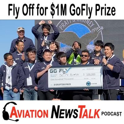 Cover art for 141 GoFly Prize - $2 Million Dollar Contest to Create a VTOL Aircraft