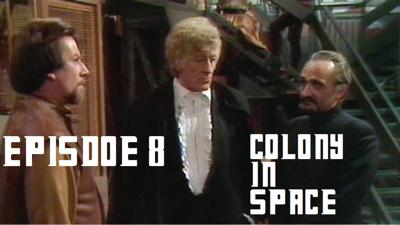 Cover art for Episode 8 - Colony in Space