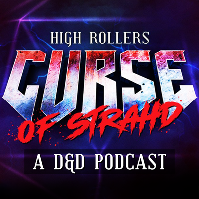 Cover art for High Rollers: Curse of Strahd #7 | House of the Living Dead