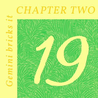 Cover art for Chapter Two of Gemini