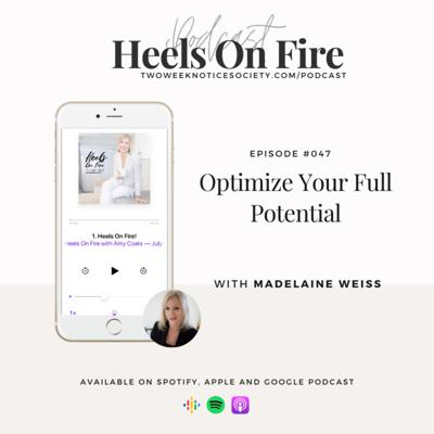 Cover art for Optimize Your Full Potential w/ Madelaine Weiss