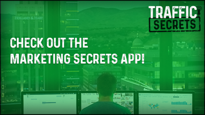 Cover art for Check Out The Marketing Secrets App!