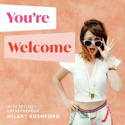 As a stylist who explores what makes women feel beautiful, entrepreneur and Instagram favorite @HilaryRushford brings her witty, winsome, and wise voice to honest conversations on how to have an extraordinary life (without being exhausted): More joy and less overwhelm in your style, business, and life. You're welcome (wink), in advance.