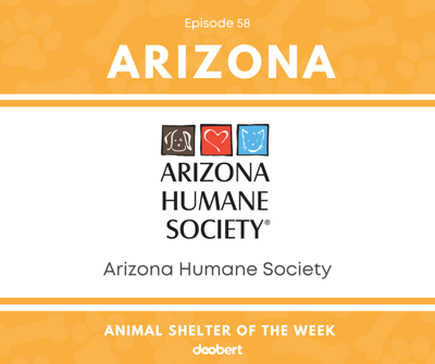 Cover art for Animal Shelter of the Week: Episode 58 – Arizona Humane Society Sunnyslope