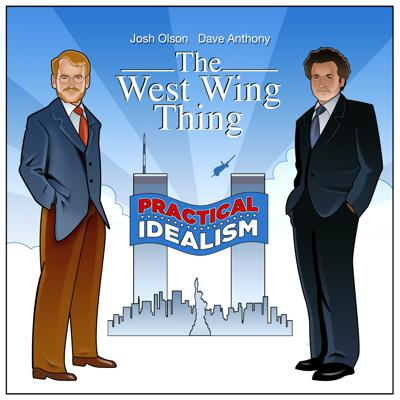 Each week hosts Dave Anthony and Josh Olson watch and then discuss an episode of The West Wing.
