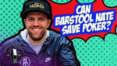 Cover art for Ep.185 Can Barstool Nate Save Poker?