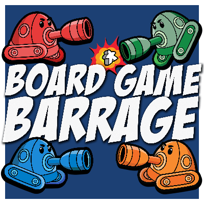 Join Kellen, Neilan, Mark, and Christina for a podcast about board games, the latest hotness, and how to have fun with your friends even when you're losing.