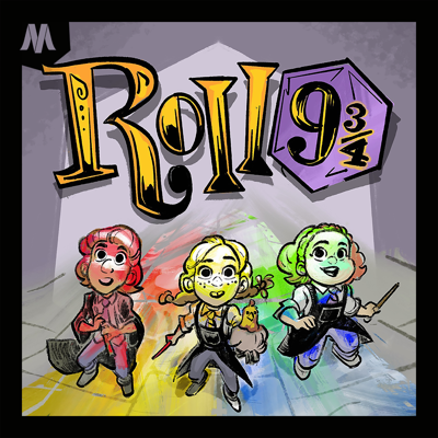 Roll 9 and 3/4: A magical Harry Potter / Dungeons & Dragons adventure, featuring the hosts of PotterCast!  Get us on: Twitter at @roll934 FB at @roll934pod  And use the hashtag #roll934 to tell us what you think!