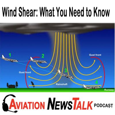 Cover art for 143 What You Need to Know about Wind Shear + GA News