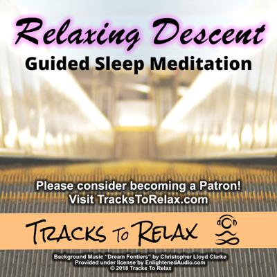 Cover art for Relaxing Descent Sleep Meditation (Podcast Edition)