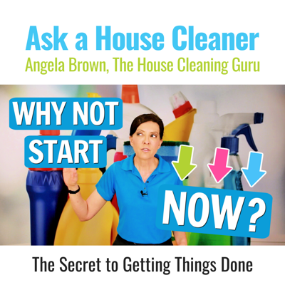 It Will Never Be Easier Than Right Now (Cleaning Motivation)