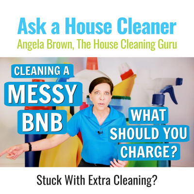 Messy BNB - How Much Should I Charge? (House Cleaners)
