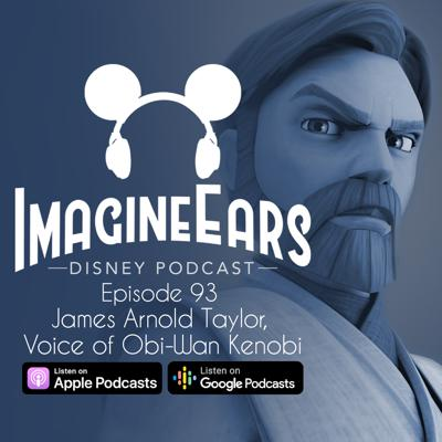 Cover art for Interview with James Arnold Taylor, Voice of Obi-Wan Kenobi on Clone Wars