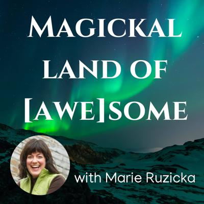 """Are you ready to live your most Magickal Life?  Where you KNOW your SuperPowers and believe there is a Genius in You…and in everyone?   What would that feel like?  Who would you be?  When you are in your Genius, you are in your Flow and synchronicities happen easily - maybe part of you thinks that it's """"out of the blue,"""" or you think of it as an anomaly.  The Magickal Land of Awesome asks you to reframe those synchronicities as Winks from the Universe.  Those happy incidents are where you know you are on the path of your Flow.  Finding out that it's not about the manifestation, but the journey all along the way.  It stems from a state of Wonder and Awe - seeing life thru the eyes of a child.    The guiding principle of MLOA is """"Happiness is more important than Oxygen.""""  Since we can't live without Oxygen, Happiness becomes the place to go back to quickly and responsibly.  Then you can breathe again.  If you are ready to practice seeing thru the Lens of Happy, come visit the Magickal Land of Awesome.  This is a place where stories are shared and practices are revealed of living from your Genius. And if you're saying that's too pie in the sky, keep reading.  Because contrast is a part of this dance.  That is the paradox.  Contrast becomes the opportunity where expansion and empowerment are greatly enhanced.  If you know that contrast cuts off your Oxygen, you'll do anything to breathe again.  Breathing again is making a deliberate choice to take the path back to happy.  Sometimes it won't happen in one step, ah there another paradox…it's the journey instead that is where the best of life is.  If you delight in celebration, appreciation, and discovering what it feels like to live from your Genius, come Visit the Magickal Land of Awesome with Guardian & Caretaker, Marie Ruzicka.  You are most Welcome…"""