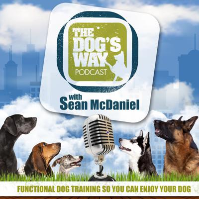 "The Dog's Way Podcast, with professional dog trainer Sean McDaniel, deals with practical dog obedience for real life situations.  Sean gives you underlying theory and practical training assignments based in a more naturalistic dog training philosophy to help you solve the most common dog behavior issues.  Sean shares his experience from over fifteen years of working with clients and their dogs, dealing with behavior modification, functional dog obedience issues and everyday dog training issues.  In the ""dog training podcasts"", Sean leaves you with homework assignments to help you begin practically dealing with your dog's issues.  Sean also, interviews leading dog issue experts in topics such as: your dog's diet, veterinary medicine, puppy raising, dog breeding and selecting the right dog for you."