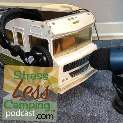 StressLess Camping podcast