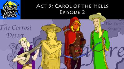 Cover art for Act 3: Carol of the Hells, Episode 2