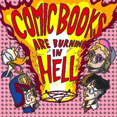 Comic Books Are Burning In Hell