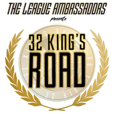 32 Kings Rd. is an American Football Vodcast and Podcast presented by The League Ambassadors. The Ambassadors are 7 life-long friends, looking to provide football edutainment from a fan's perspective. Although the focus of the show is to engage the burgeoning UK NFL fanbase, anyone interested in football, fun times or free-flowing friendly banter can enjoy.
